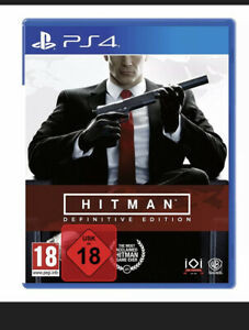 Hitman Definitive Edition - PS4 Playstation 4 Spiel - NEU OVP