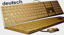original Apple USB Aluminium Tastatur MAC PRO IMAC MAC MINI G4 G5 A1243 deutsch