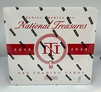 2019-2020 National Treasures Basketball Factory Sealed Hobby Box! Zion JA RPA?