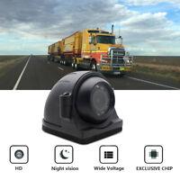 4 PIN Side View CCTV Reverse Camera IR Night Vision For Heavy Duty Truck Bus RV