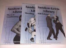 Sandow-Lewis Library Vol.1-8 (I- Viii) Set Conditioning, Defense & Wrestling