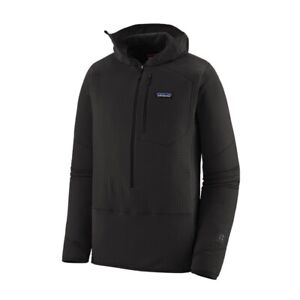 Patagonia Men's R1® Fleece Pullover Hoody Black Large