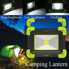 USB Rechargeable COB LED Portable Flood Spot Light Outdoor Camping Hiking Lamp