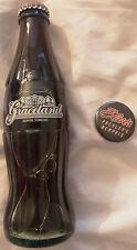 Elvis Presley's Memphis Restaurant Pin Badge & Graceland Coca Cola Bottle ~1986