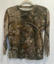 Boys Camo Shirt Realtree Camo Shirt Long Sleeve Shirt XL Camouflage Shirt Youth