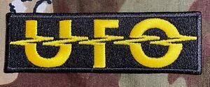 UFO Embroidered Patch U009P Schenker MSG Scorpions Iron Maiden