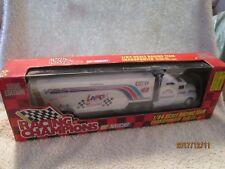 PETTY RACING #43 lance semi 1/64 Kenworth T600 w/ Transporter trailer champions