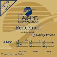 Big Daddy Weave - Redeemed - Accompaniment CD NEW