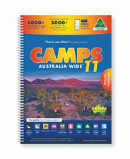 NEW Camps Australia Wide 11 A4 By Heatley & Michelle Gilmore Spiral Ringed Book