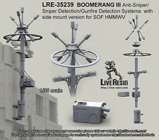Live Resin 1/35 LRE-35239 BOOMERANG III Detection Systems Side Mount Version (2)