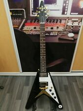 Epiphone Korina Flying V Upgraded Seymour Duncan Pickups - Bag And Accessories