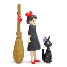 Studio Ghibli Kiki's Delivery Service Jiji Cat Kiki Figure Figurine Toy 3pcs/set
