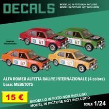 Articoli di modellismo statico Mebetoys Alfa Romeo