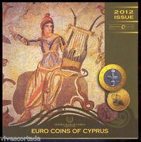 Chipre 2012 Cartera oficial 9 valores