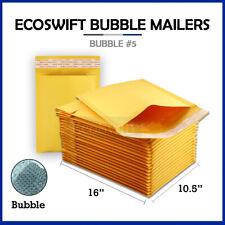 1 5 105x16 Kraft Bubble Mailers Padded Envelopes 5