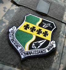 USAF LOCKHEED SPY PLANE 9th SRW Strategic Reconnaissance Wing U-2 burdock SSI