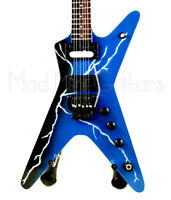 Miniature Guitar DIMEBAG DARREL with free stand THUNDERBOLT LIGHTNING