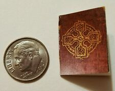 Miniature dollhouse Halloween witch spell book Barbie 1/12 Scale   Haunted NJ