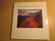 ANSEL ADAMS IN COLOR HC Book 1993 1st EDITION