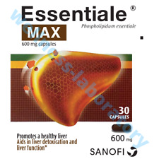Essentiale Forte MAX 30 caps (600mg) Double Liver Support, No Side Effect