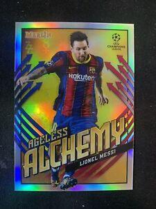 2020/21 Topps Merlin Lionel Messi Ageless Alchemy 🔥📈