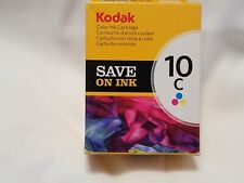 LOT of (2) Genuine Kodak Color Printer Ink Cartridges 10C **NEW** in Box 420 pgs