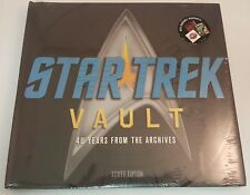 Star Trek Vault 40 Years From The Archives Hardcover Book ~Sealed~Abrams~Spock