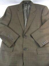 Mens Jos. A. Bank Signature Collection Brown window pane, Sport coat, Blazer 40R