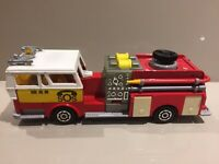 Majorette Vintage Die Cast 1:47 Scale Pompe A Incendie Fire Engine Excellent