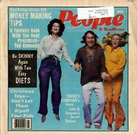 THREE'S COMPANY-MODERN PEOPLE MAGAZINE JAN 1980-SUZANNE SOMERS & RITTER & DEWITT