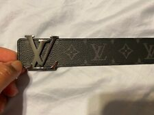 LOUIS VUITTON Men's LV Initiales 40 MM Reversiable Monogram Eclipse 95/38 SPAIN