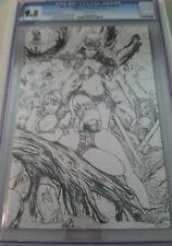 Grimm Fairy Tales Wonderland Down the Rabbit Hole 5 Black Diamond Sketch CGC 9.8
