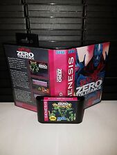 Beyond Zero Tolerance Video Game for Sega Genesis! Cart & Box!