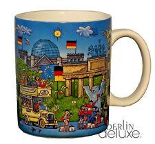 """BUDDY BÄR Berlin XL Tasse """"Comic I""""  NEU/OVP Becher Berliner Motive Souvenir Mug"""