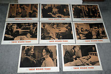 THESE WILDER YEARS lobby card set JAMES CAGNEY/BARBARA STANWYCK/BETTY LOU KEIM