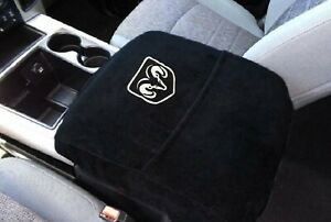 Fits Ram Trucks 2014-2021 Official Ram Logo Embroidered Console Cover C2SA