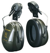 3M Peltor H520P3E Optime II Ear Muffs Helmet Mounted 30dB SNR Ear Defenders New