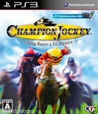 Used PS3 Champion Jockey: G1 SONY PLAYSTATION 3 JAPAN JAPANESE IMPORT