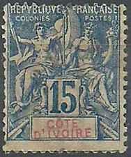 Timbre Cote d'Ivoire 6 o lot 22544 - cote : 17 €