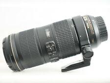 Nikon 70-200mm F/4.0, lente VR G ED Perfecto Estado De Funcionamiento