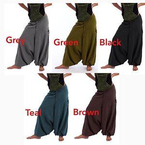 HAREM PANTS, yoga trousers, GEKKO pants, MENS HAREM TROUSERS, WOMEN HAREM PANTS