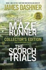James Dashner The Maze Runner & The Scorch Trials 2 in 1 Collector's Edition NEW