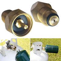 1x Propan Refill Adapter Lp Gas 1 Lb Zylinder Behälter Kupplung Heizung Messing