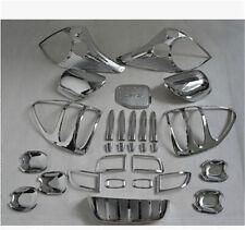 29pcs Trim Head Rear Fog Light Mirror Handle for Toyota Prado Fj120 2003-2009