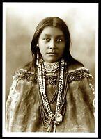 ⫸ 909 Postcard Hattie Tom, Chiricahue Apache, 1899 Photo by Frank Reinhart – NEW