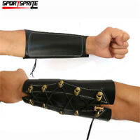Archery Arm Guard Leather Protect Target Accessory For Hunting Shooting Archery