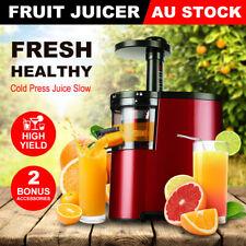 Electric Cold Press Juice Slow Juicer Fruit Vegetable Processor Extractor Mixer