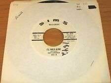 "PROMO COUNTRY 45 RPM - KAY ARNOLD - SIMS 223 - ""I'LL WALK ALONE"""