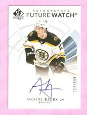 2017-18 SP AUTHENTIC Future Watch Auto Anders Bjork RC #727/999