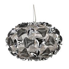 Searchlight Triangle 3 Light Large Chrome Smokey Acrylic Modern Ceiling Pendant